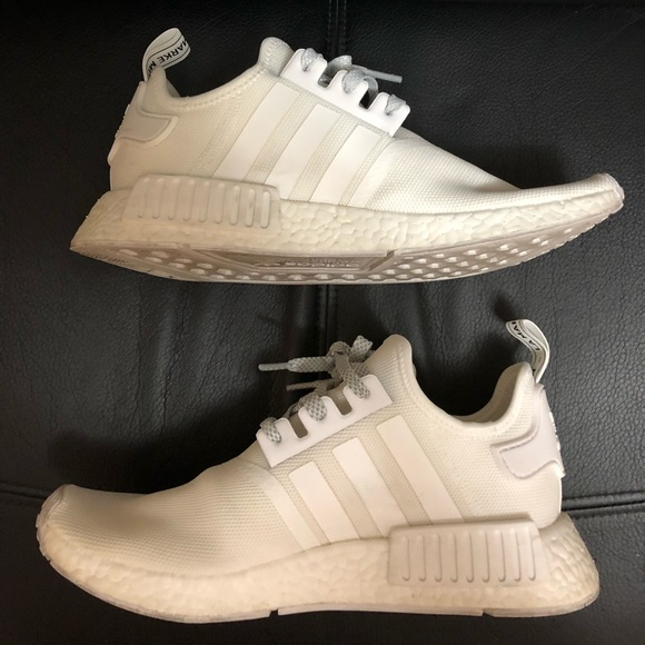 Adidas Shoes Nmd R1 White Reflective Size 85 Poshmark